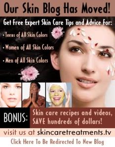 """""""skin care treatments ad"""""""